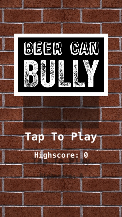 Beer Can Bully