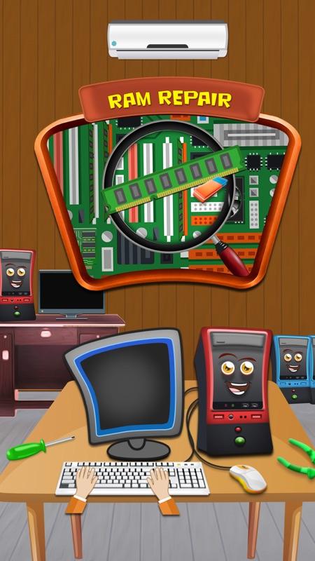 Computer Repairing : Hardware Repairing Game - Online Game