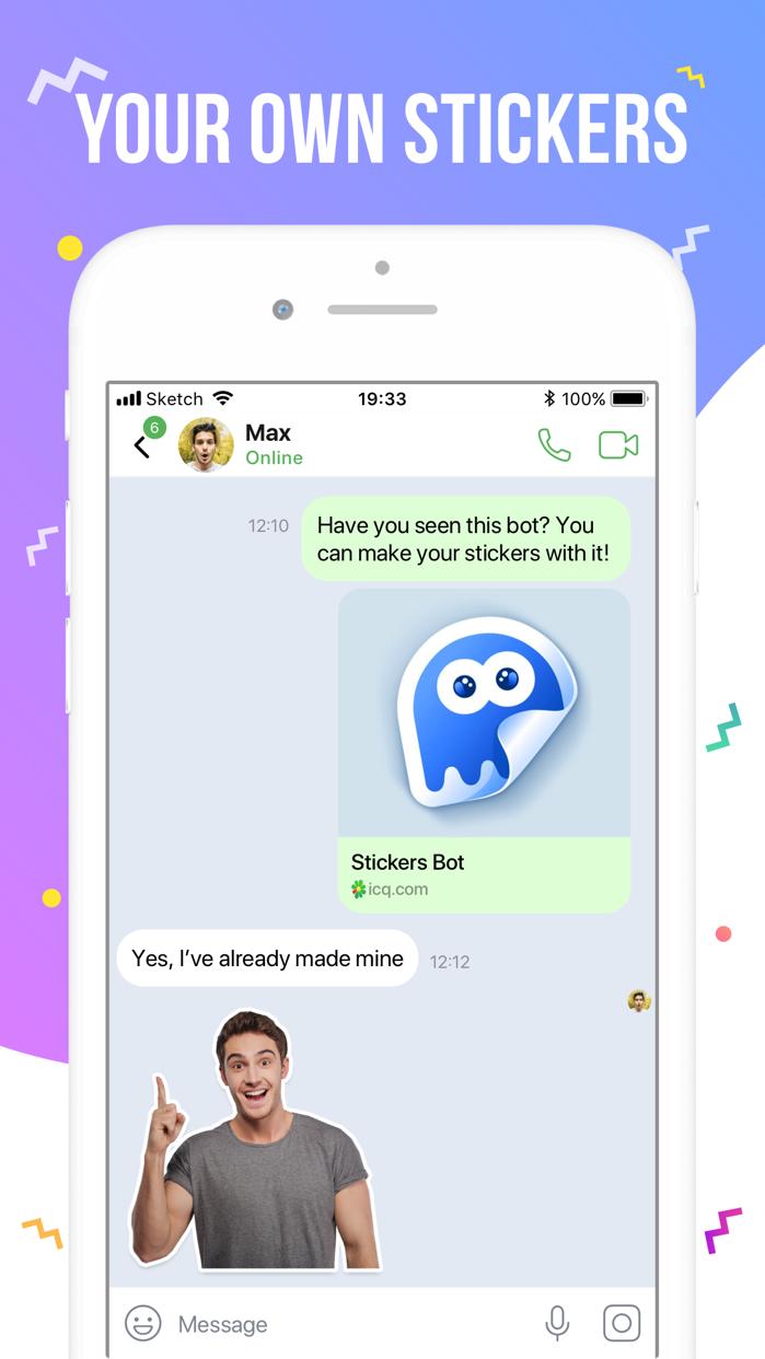 ICQ – Video Calls & Chat App Screenshot