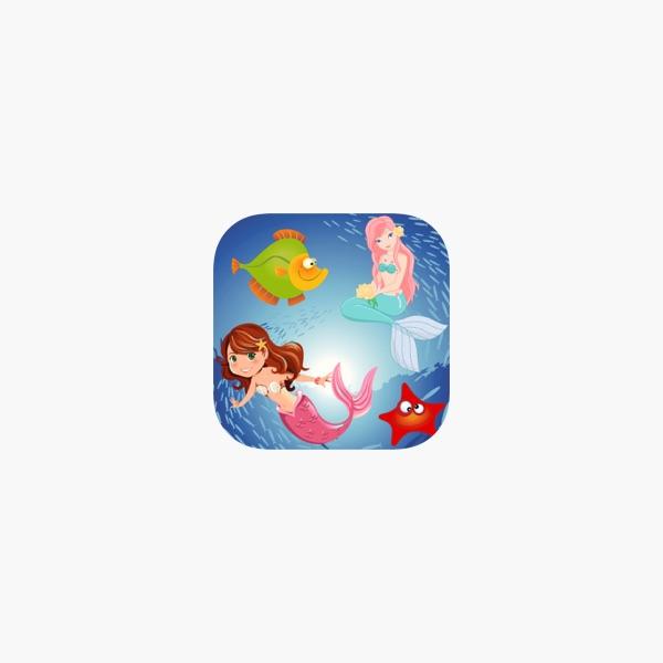 Rompecabezas de la sirena niña en App Store