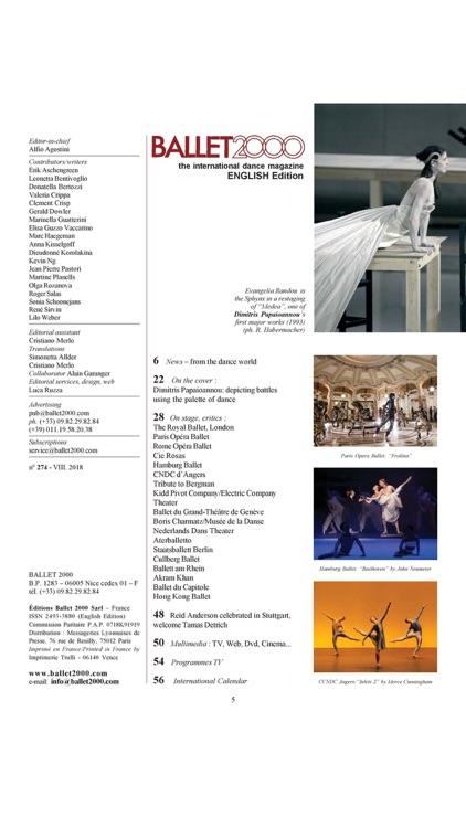 BALLET2000 English Edition