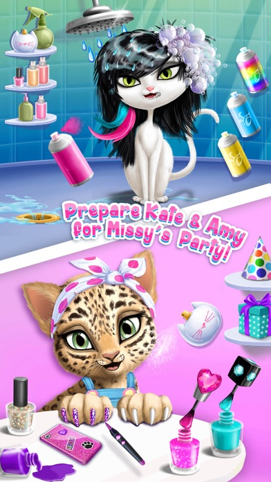 Cat Hair Salon Birthday Party screenshot 2