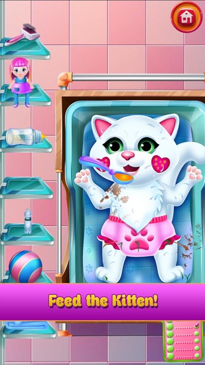 New Baby Kitten Cat Care screenshot-7