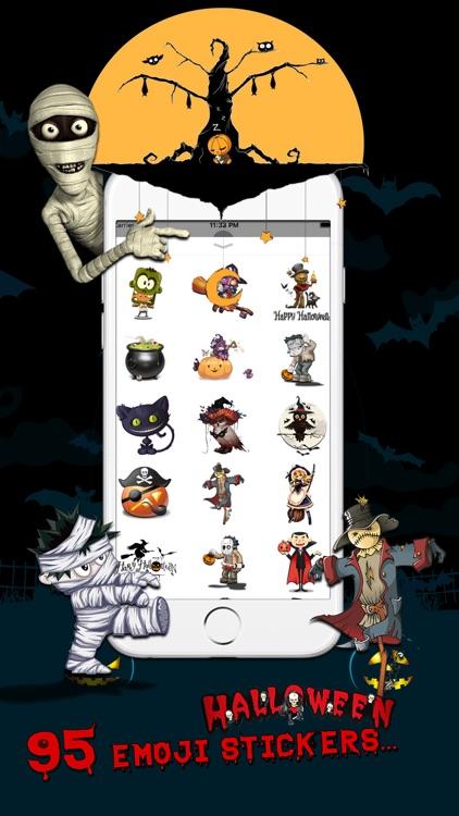 Spooky Halloween Cartoon Emoji