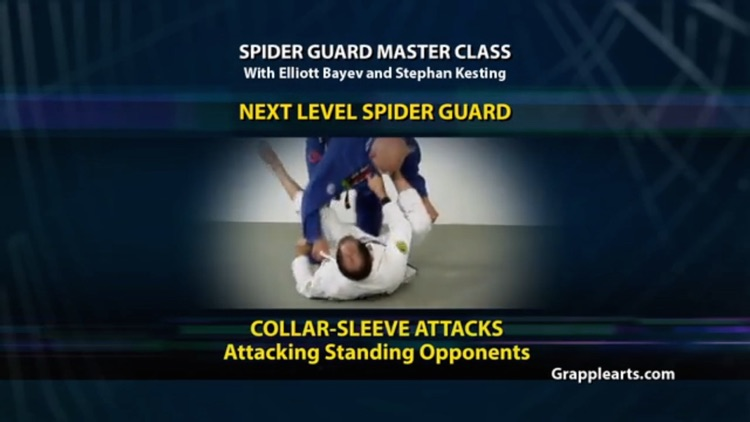 BJJ Spider Guard Vol 4 screenshot-0