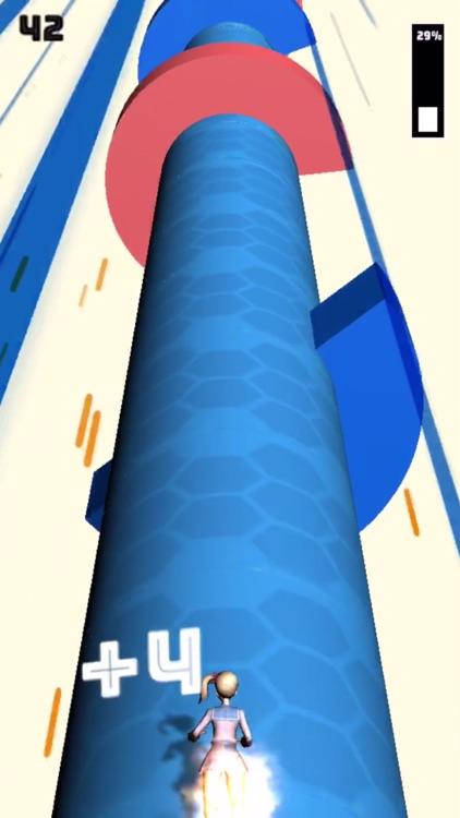 Helix Dash: Twist and run game screenshot-4