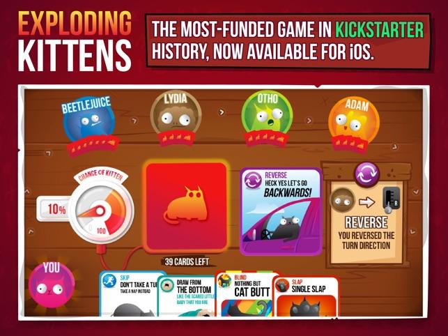 Exploding Kittens® Screenshot