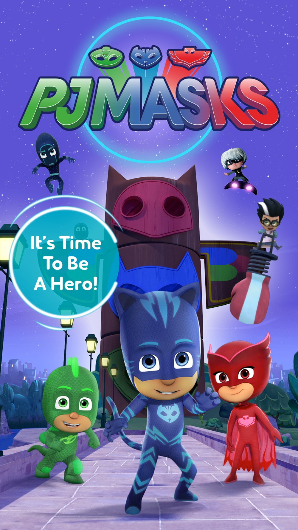 PJ Masks: Time To Be A Hero Cheat Codes