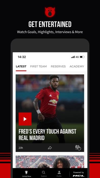 Manchester United Official App Screenshot 7