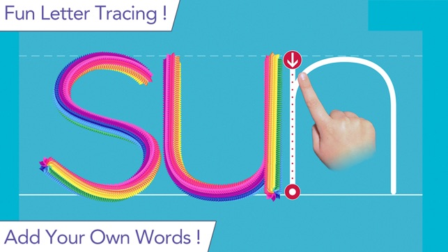 cool text writing apps for children