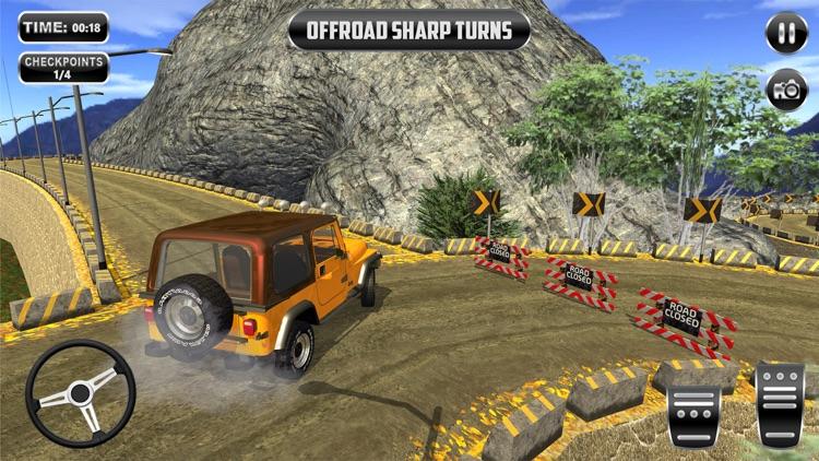 0ffroad Jeep Driving Simulator screenshot-3