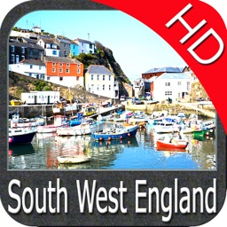 Marine : South West England HD - GPS Map Navigator