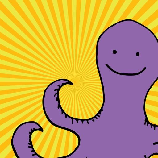 Happy Octopi Stickers