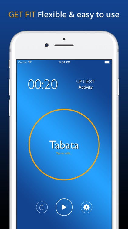 Totally Tabata Timer Protocol screenshot-0