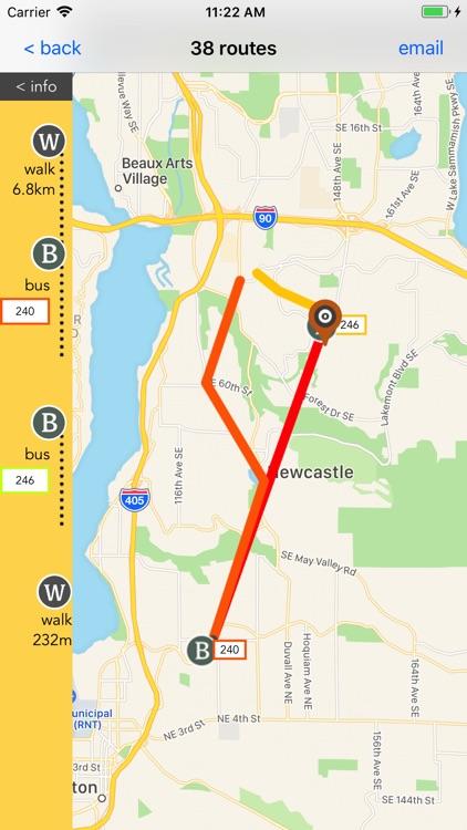 Seattle Public Transport screenshot-3