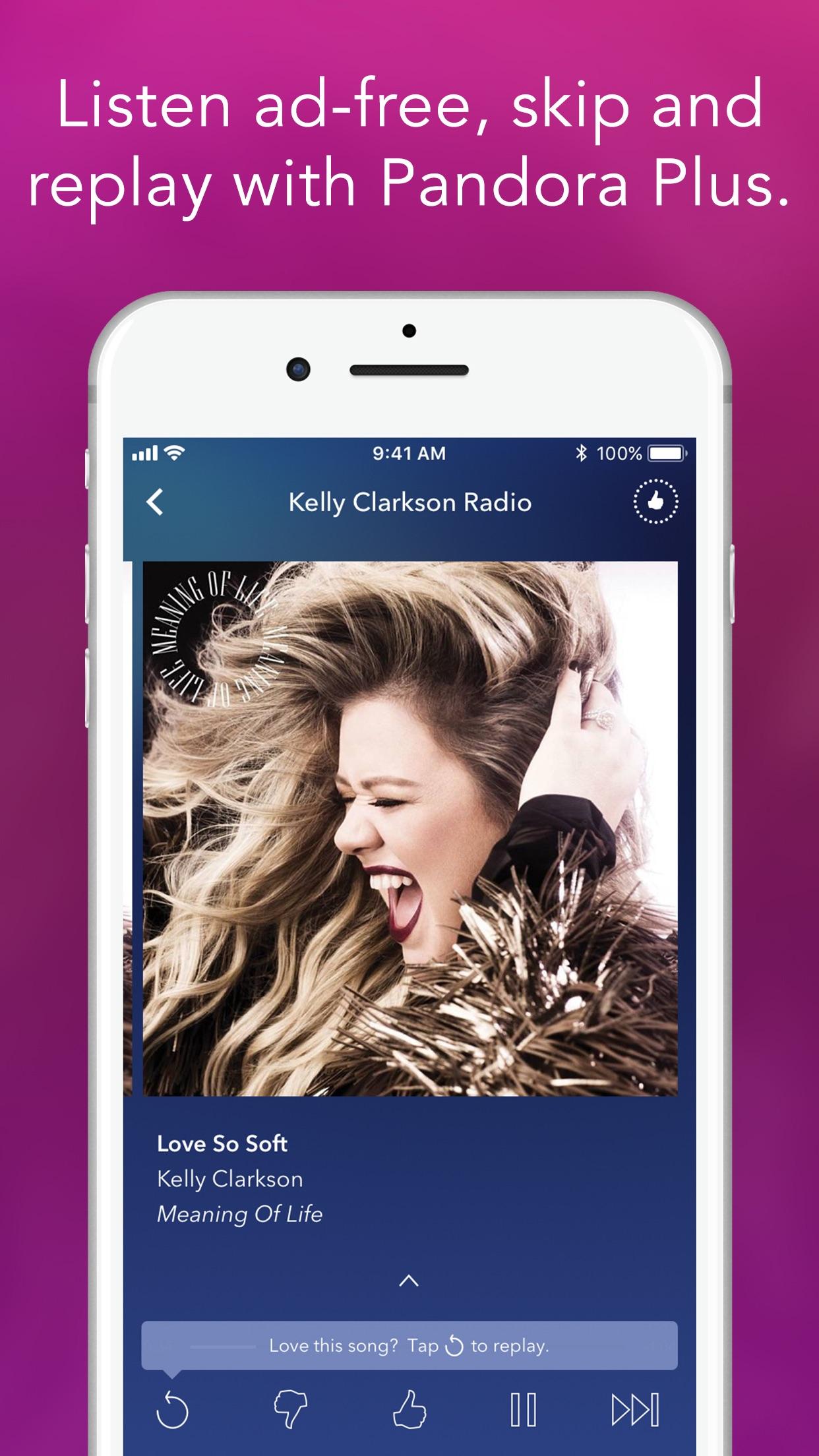 Pandora Music Screenshot