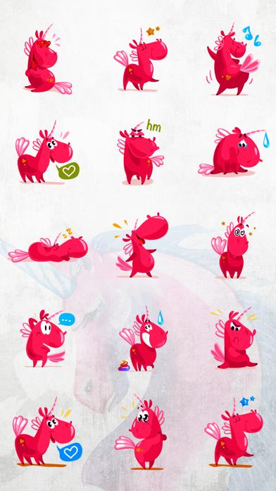 Unicorn Stickers Pack - Emoji screenshot one