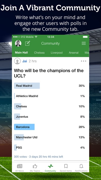 تحميل Football News & Scores للكمبيوتر