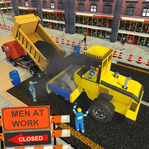 City Real Road Construction