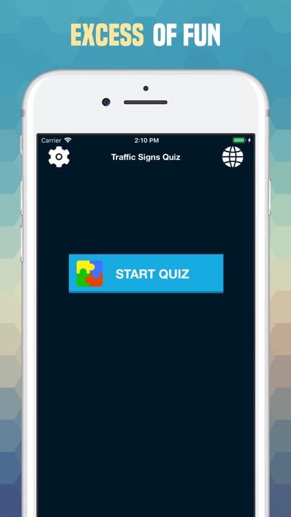 Traffic Sign Quiz: Road Trivia screenshot-9
