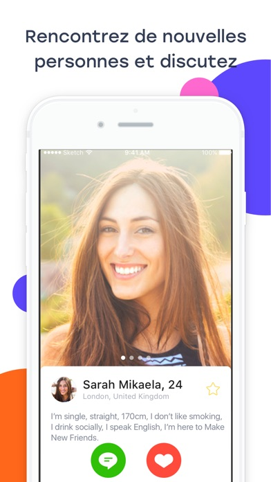 Screenshot for InMessage: Meet, Chat, Date in Lebanon App Store