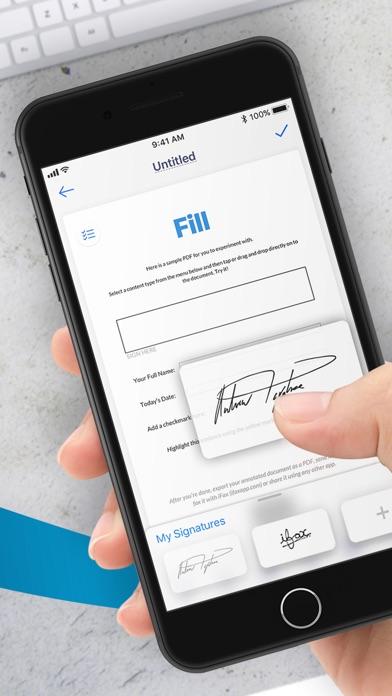 Fill: PDF Reader, Editor, Sign Screenshot