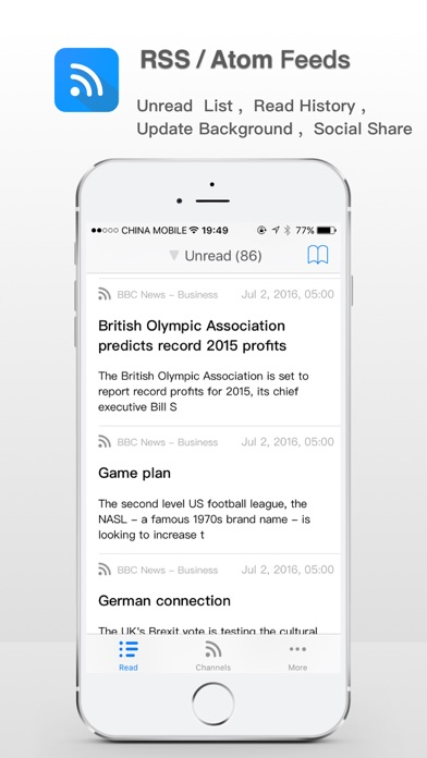 RSS Reader ! Screenshot