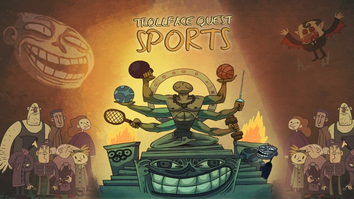 Troll Face Quest Sports Screenshot