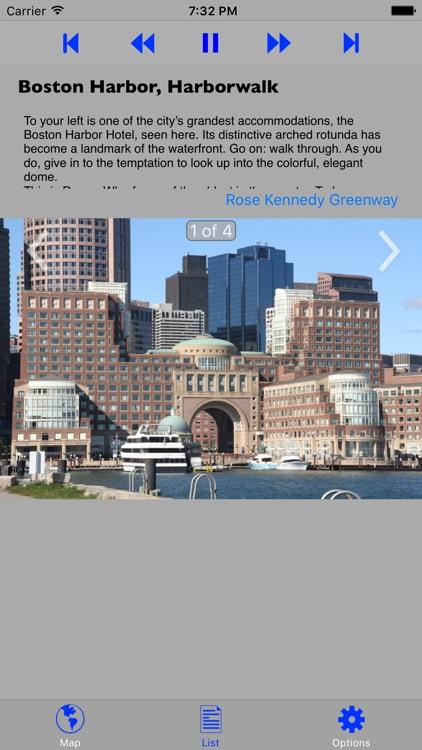 Boston Walking GPS Audio Tour