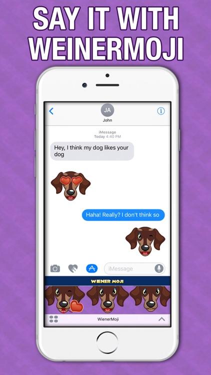 WeinerMoji - Dachshund Emoji & Stickers!