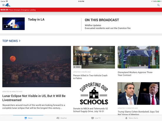 NBC4 Southern California iPad
