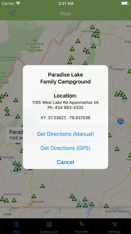 Virginia – Camping & RV spots screenshot-1