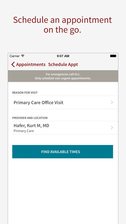 Stanford Health Care MyHealth screenshot-2