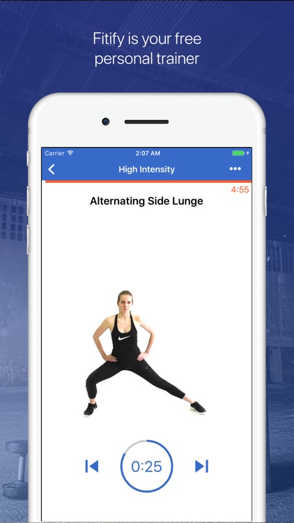 Cardio & HIIT Workout - Fitify