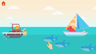 恐竜パトロールボート - 子供向けゲームのおすすめ画像4