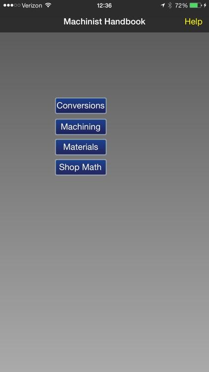Machinist Handbook - Shop Calculator screenshot-3