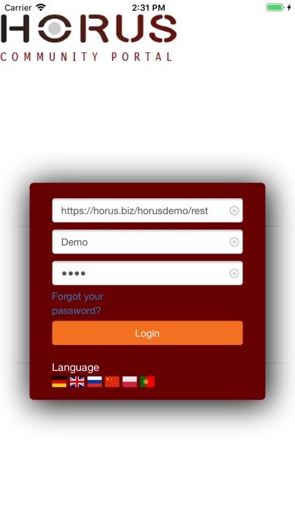 Horus Community Portal