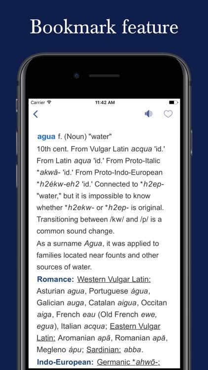 Spanish Word Origin Dictionary