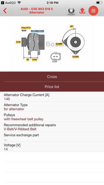 AutoParts  Audi  Q5 screenshot-3