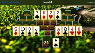 Wild Tri-Peaks screenshot for iPhone
