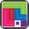 连线脑点子 - 找相同色块拼图益智游戏