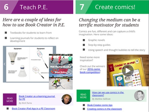 50 ways to use book creator in your classroom by the book creator