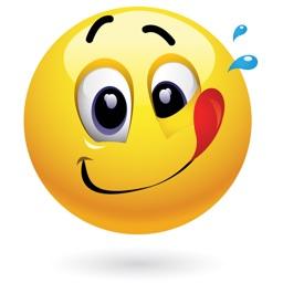 Yellow Smiley Emoji Stickers