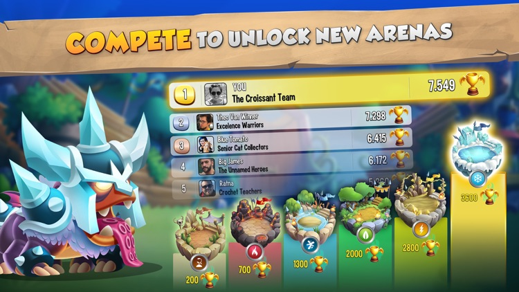 Dragon City Mobile screenshot-5