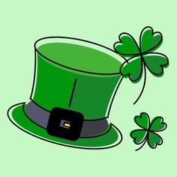 Hi St. Patrick's Day Stickers
