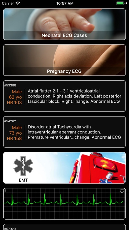 ECG Pro - Cases for CME & EMT screenshot-6