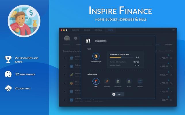 Inspire Finance 4 Home Budget Im Mac App Store