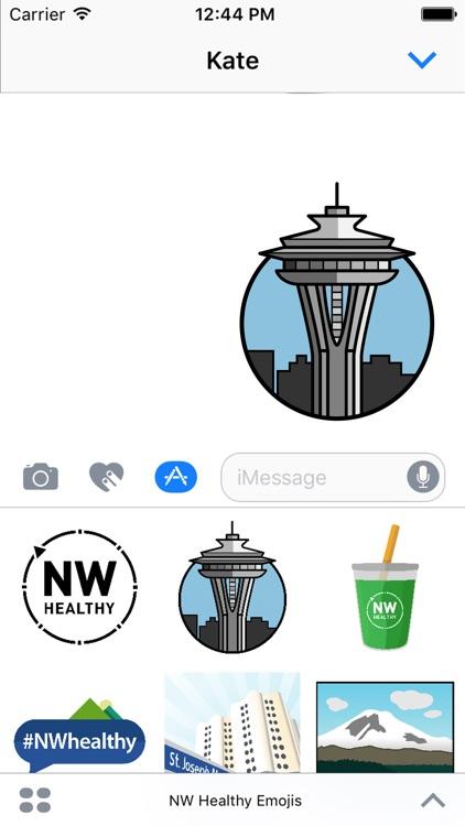 NWhealthy Emojis
