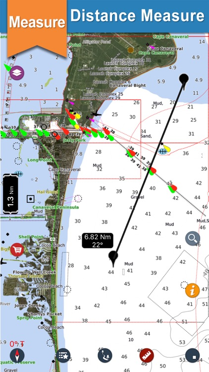 Seawell USA Marine Charts GPS screenshot-7