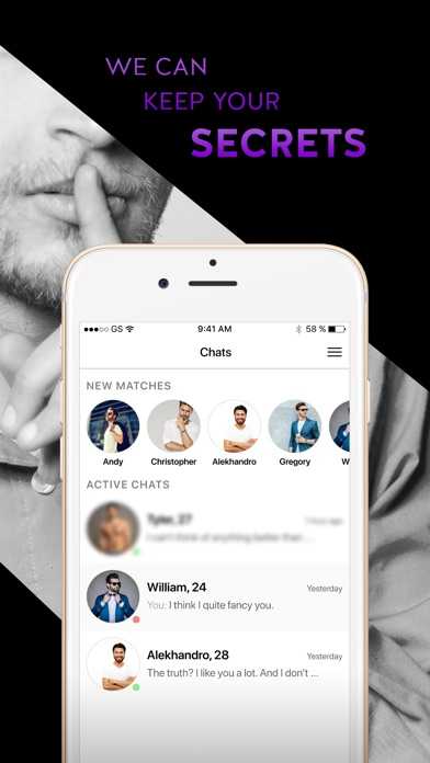 Gay Dating & Chat App - Target-2